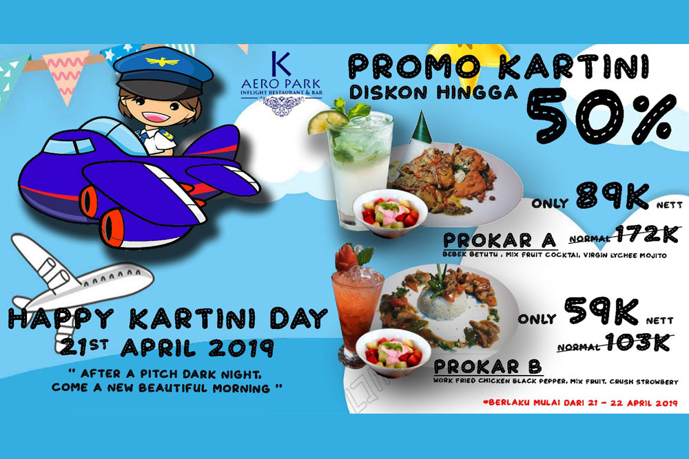 Happy Kartini Day Promo